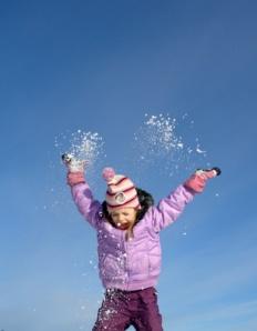 Kinder lieben ausdauerd Bewegung