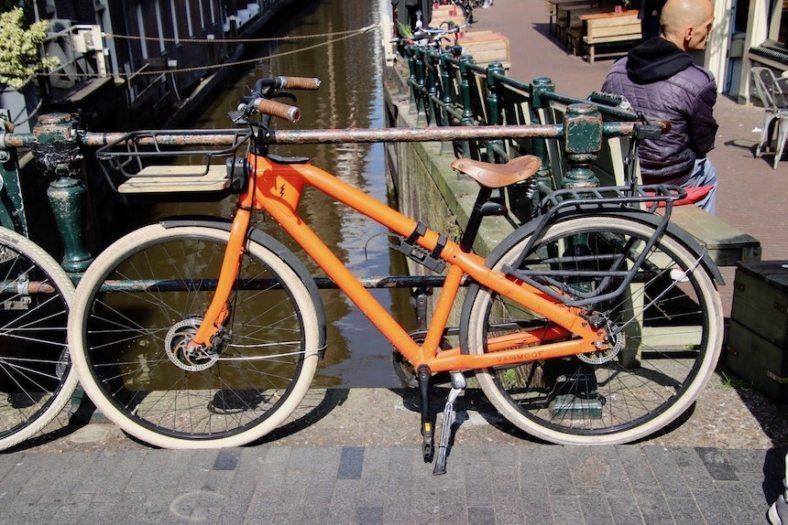 Fahrrad als Symbol Ausdauer